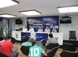 Evandro Carvalho reúne jornalistas para falar sobre PE A1