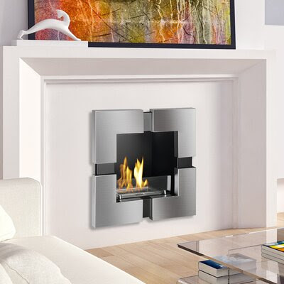 Ignis Wmf 101 Ul Tokyo Recessed Ventless Wall Mount Ethanol Fireplace