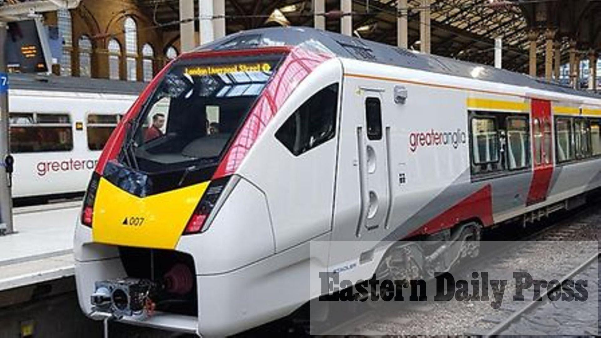 Person hit by train on Norwich-bound line