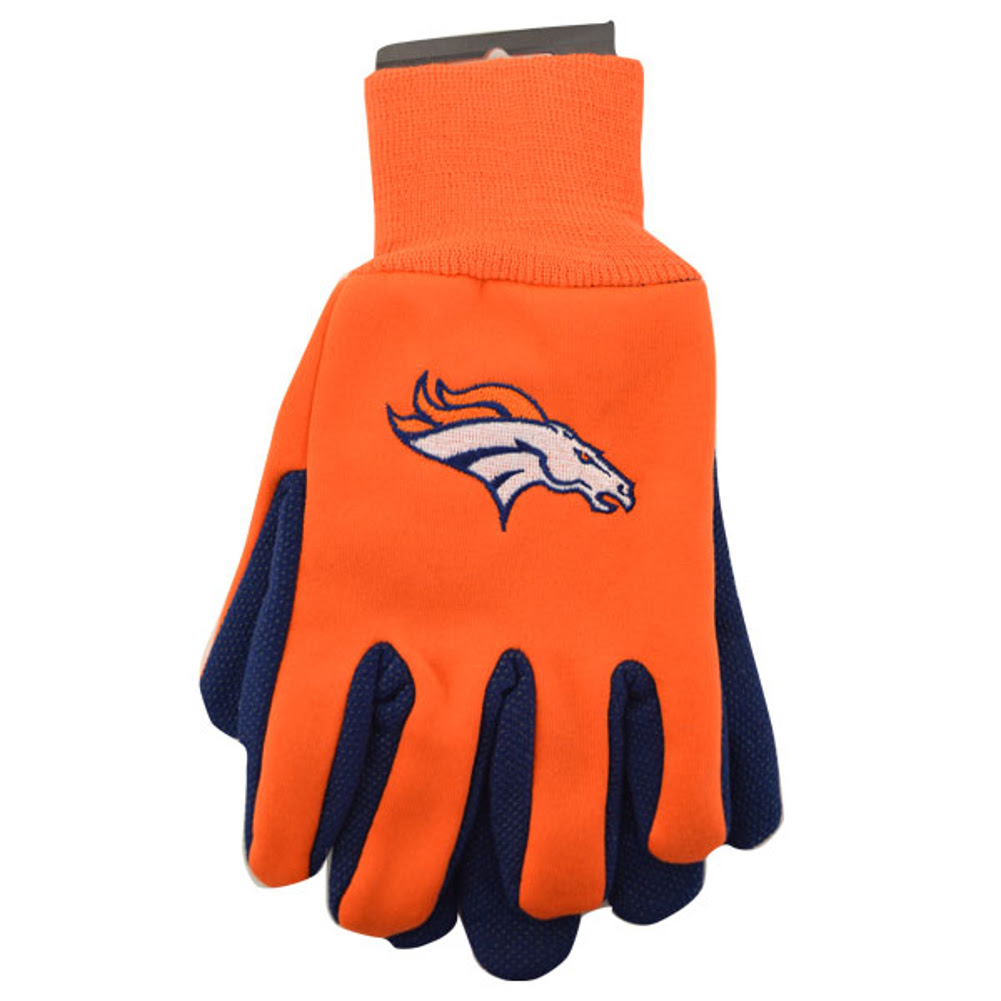 NFL Utility Gloves Choose Your Favorite Team Pair Football Logo Grip New  eBay