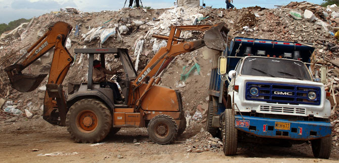 Directora del Dagma anuncia que pronto habrá Centro de Aprovechamiento de Escombros