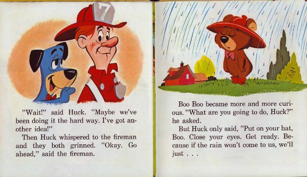 Huckleberry Hound the Rainmaker015
