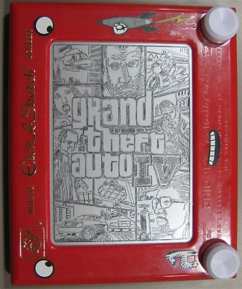 Check Out These Cool ETCH A SKETCH Drawings! ? GeekTyrant