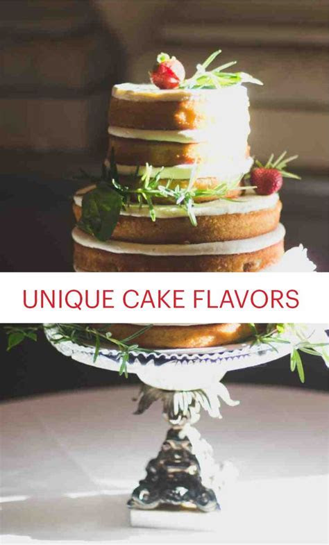8 Wedding Cake Flavors You Haven't Tried Yet   Wedding