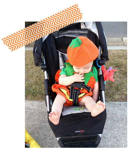 Baby A Trick or Treating