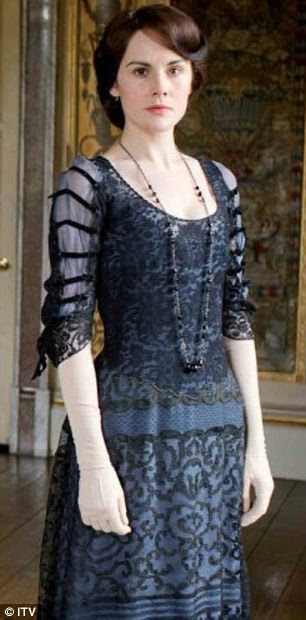 Alter ego: Michelle as Lady Mary Crawley