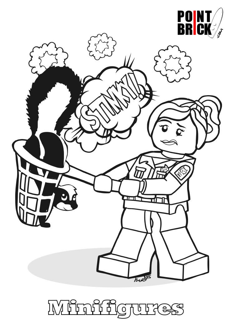 Point Brick Blog Disegni Da Colorare Lego Minifigures Serie 15