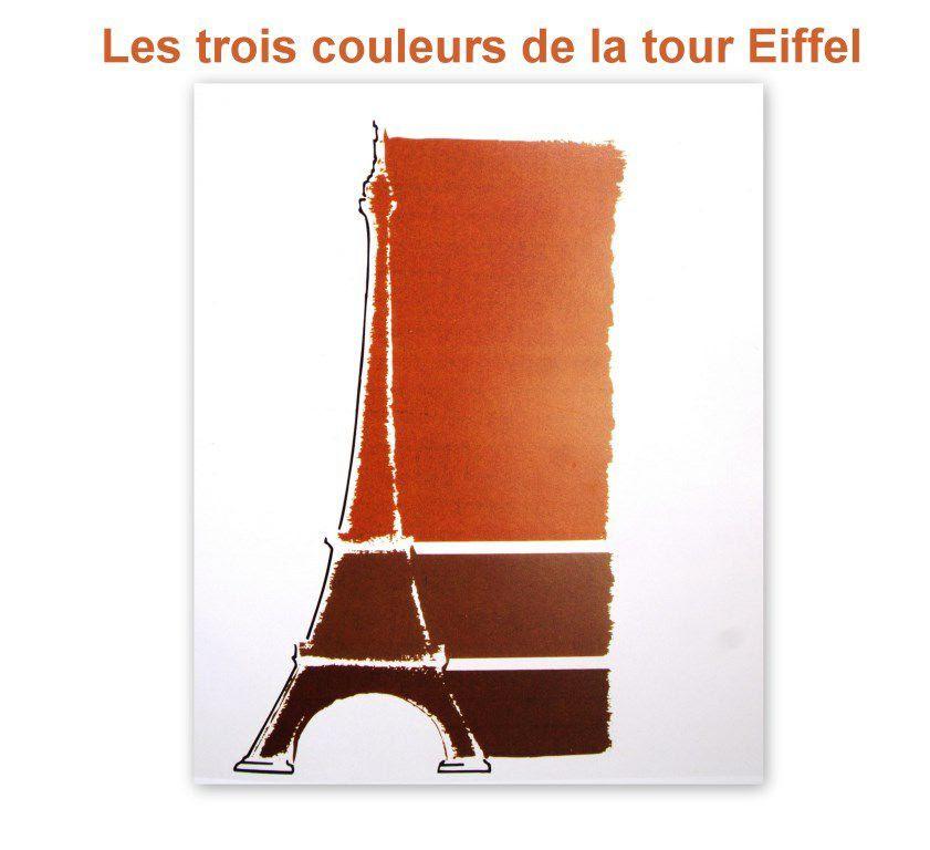 Les Couleurs De La Tour Eiffel Le Blog De Jean Pierre