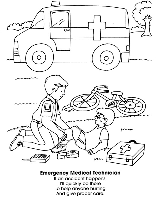 Paramedic coloring page | Free Printable Coloring Pages | Coloring pages,  Paramedic, Free printable coloring pages | 750x608