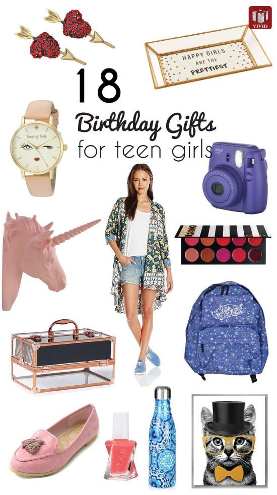 18 Top Birthday Gift Ideas for Teenage Girls - Vivid's Gift Ideas