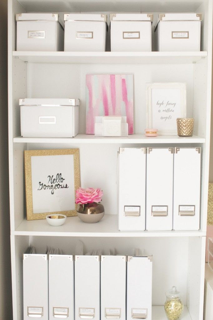 using pink sparingly is just the right touch