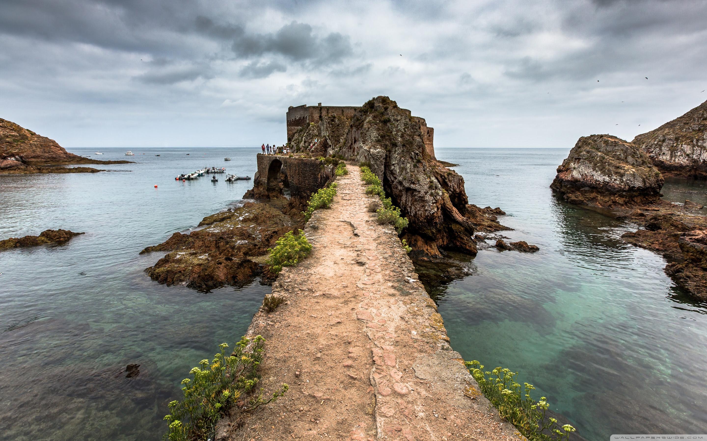 Fort, Berlenga Grande Island, Portugal HD desktop ...