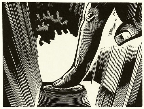 Graphic Novel illustration by Laurence Hyde