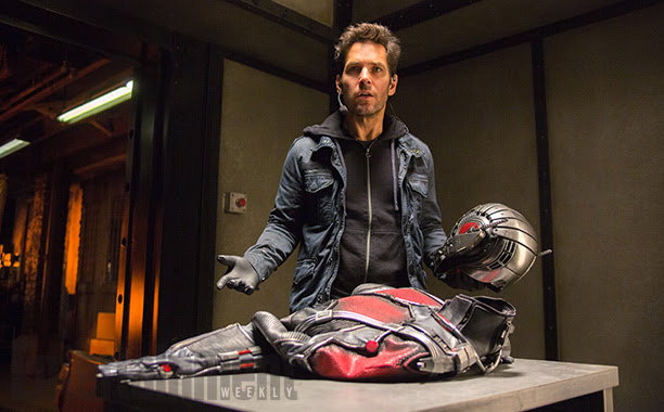 Paul Rudd es Scott Lang en Ant-Man