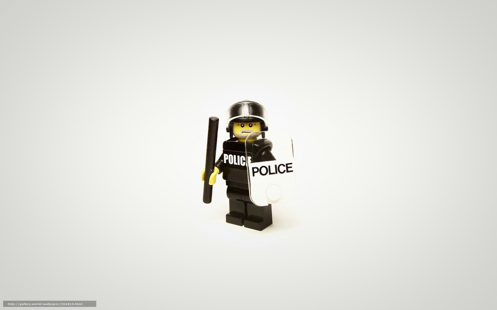 壁紙をダウンロード ミニマリズム レゴ 警察 デスクトップの解像度の