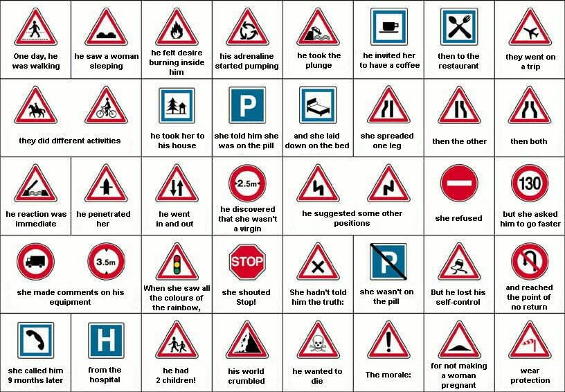 road signs by Funny Indian,its