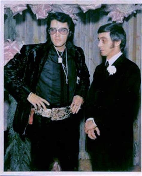 1970 12 05 ~ Elvis and George Klein. ~ Elvis was Best Man