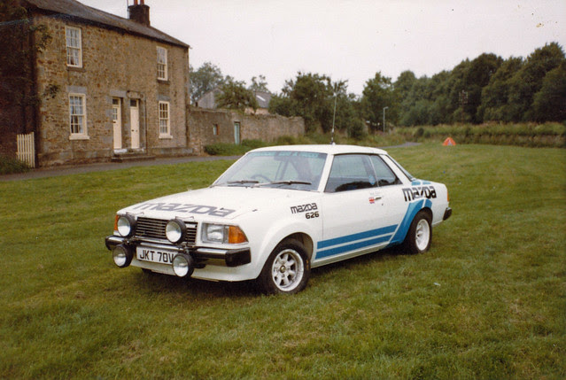 Mazda 626 Rally Car - 03