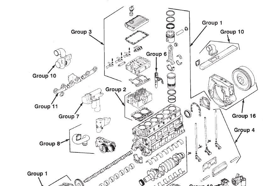 35 Cummins N14 Parts Diagram
