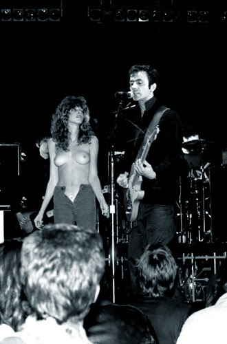 hugh cornwell topless girl