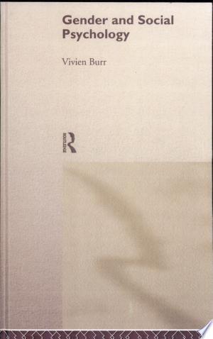 PDF Books Free: Download Gender and Social Psychology PDF Free