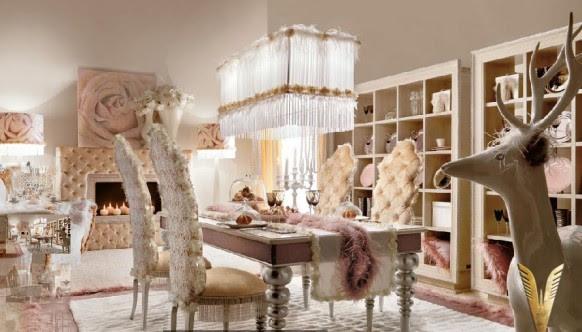 Luxurious Interiors-Dining room Area