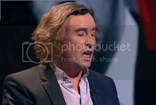 Steve Coogan on Question Time - click for episode