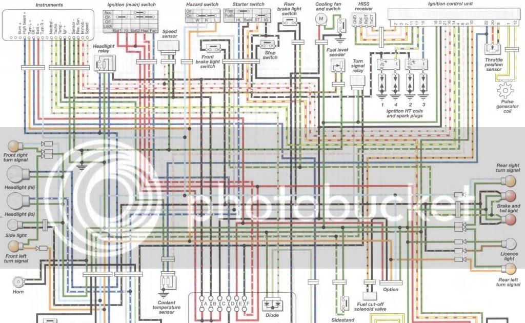 Wiring Diagram Cbr 250r