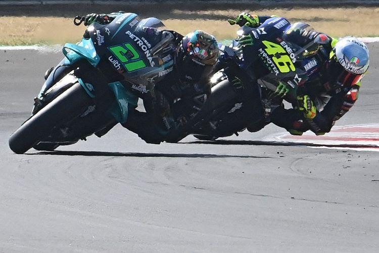 Duet Maut Valentino Rossi Dengan Morbidelli di MotoGP ...