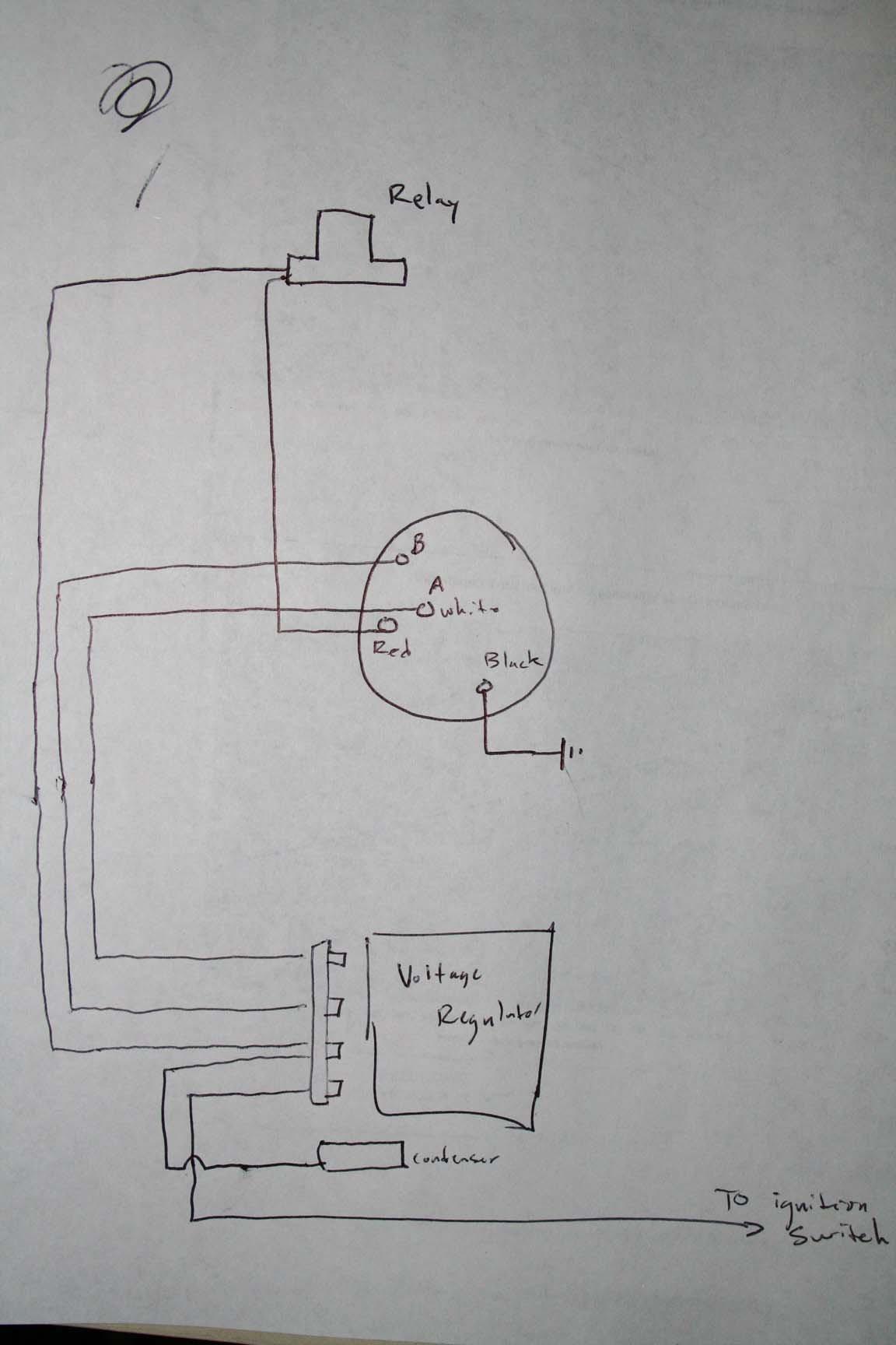Ford Alternator Wiring Diagram External Regulator