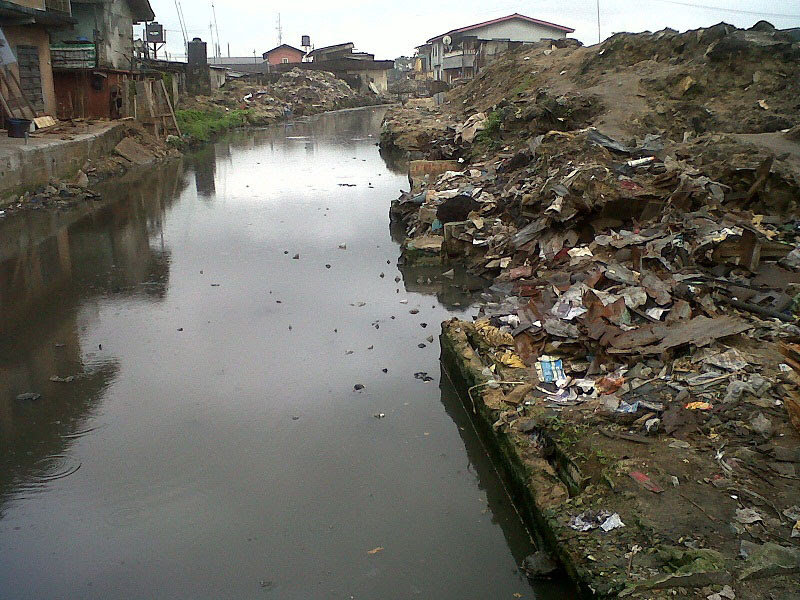 Image result for canal in nigeria