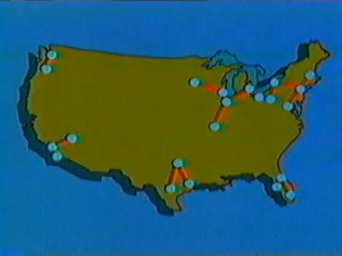 """Nova """"Supertrains"""" map"""
