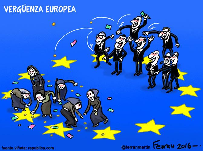 La viñeta: Vergüenza europea
