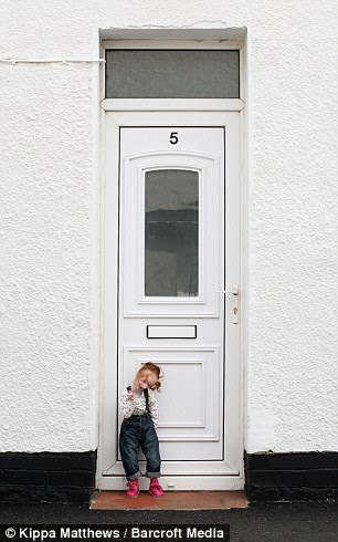 Five-year-old Charlotte Garside at home in Hull, England