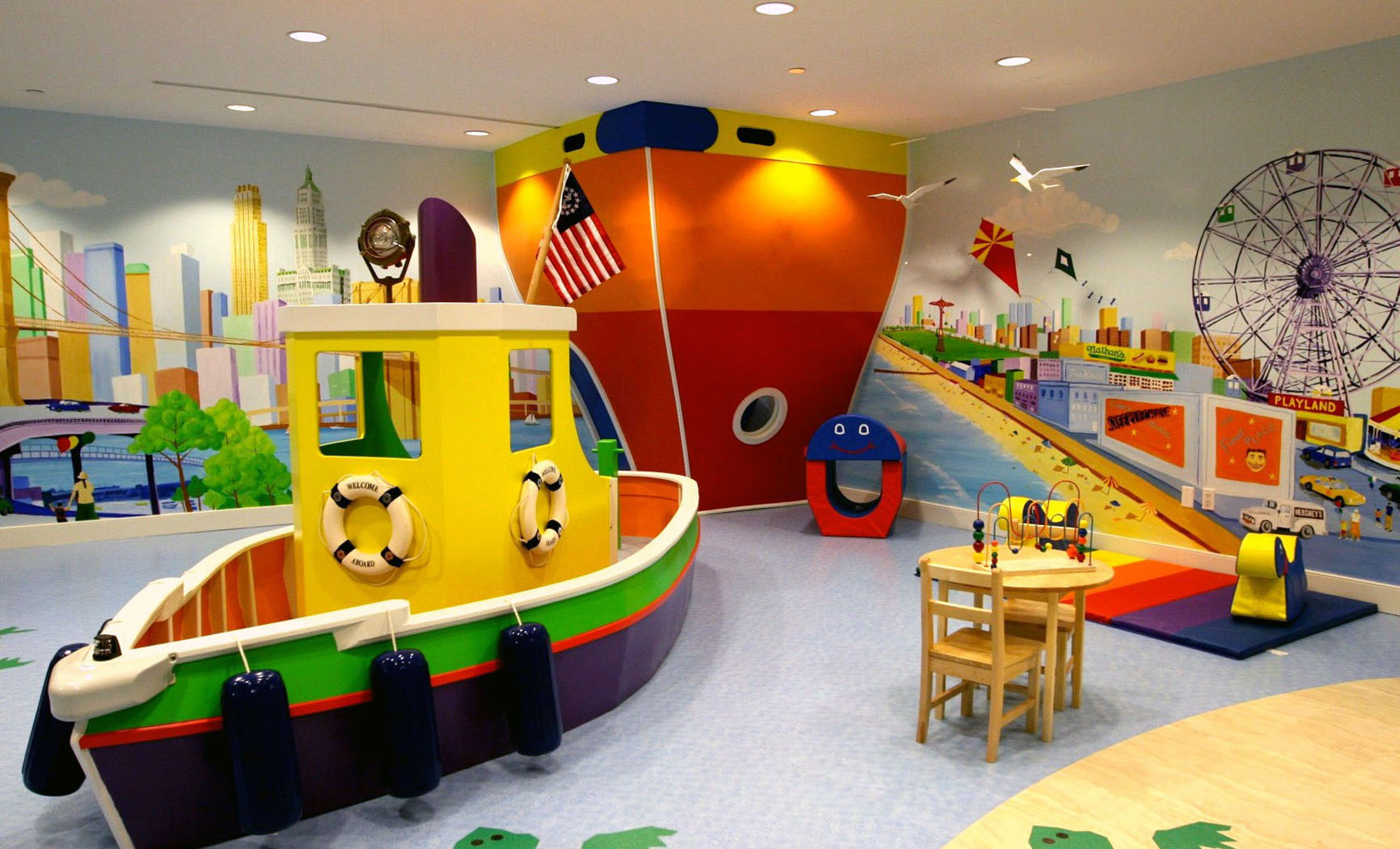 Kids Playroom Designs & Ideas