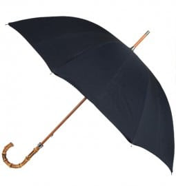 London Undercover Black Sherlock Holmes Print Premium Umbrella London Undercover