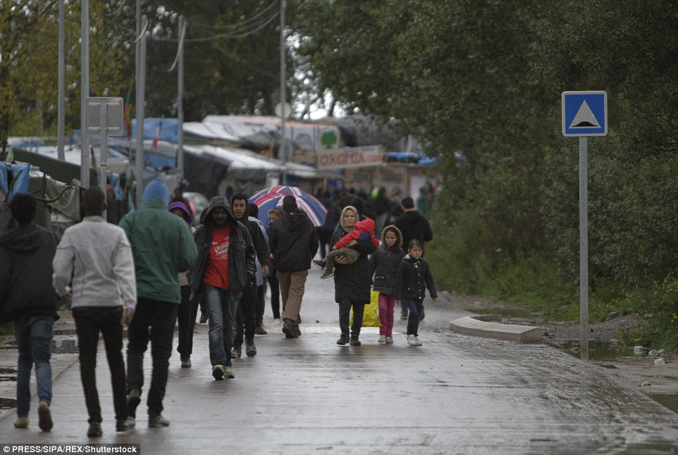 The slum has become a symbol of his government's failure to tackle Europe's migrant crisis and a target of criticism from conservative and far-right rivals seeking to unseat him