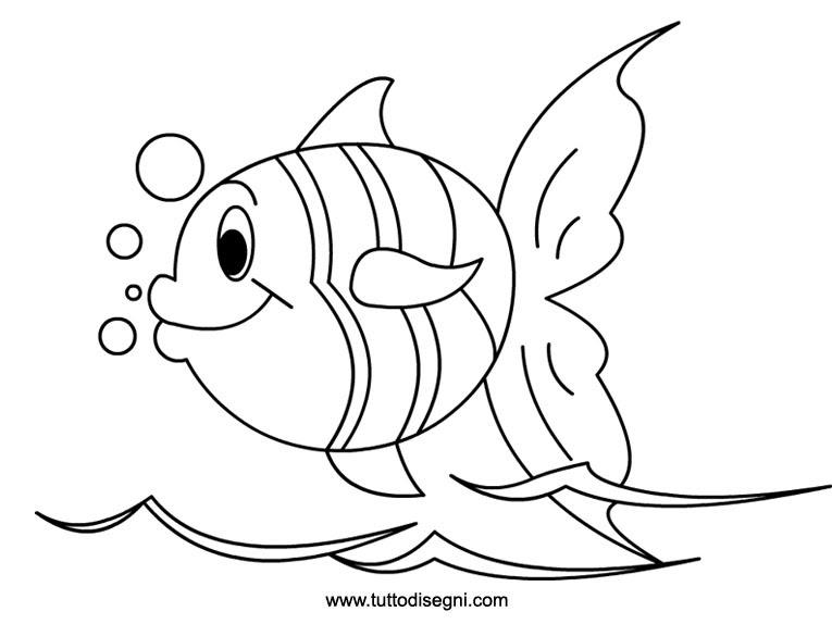 Fish Coloring Pages for Preschool - Preschool and Kindergarten