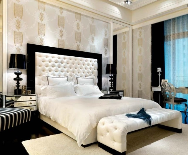 أفكار غرف نوم ديكورات 2017 - bedroom's blog