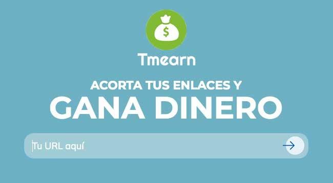 Tmearn Acortador de enlaces | Tmearn Ganar dinero Tmearn | Como Funciona