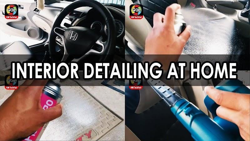 Car Interior Detailing At Home