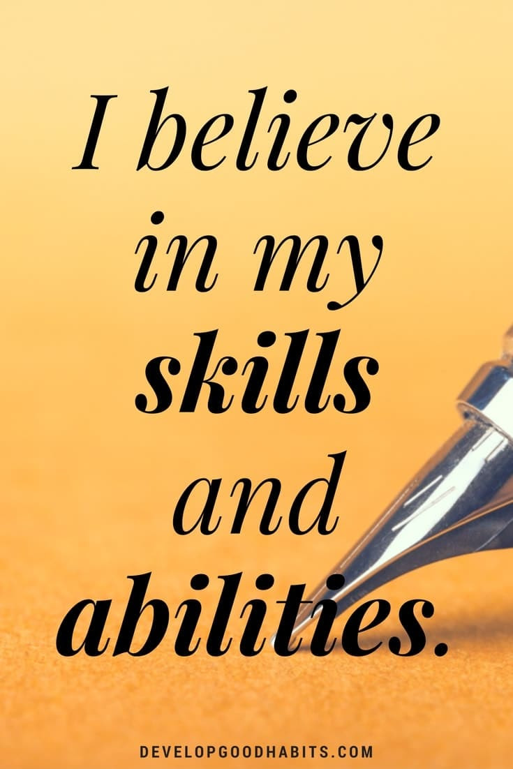 20 Affirmations for Self Esteem That Build Confidence and ...