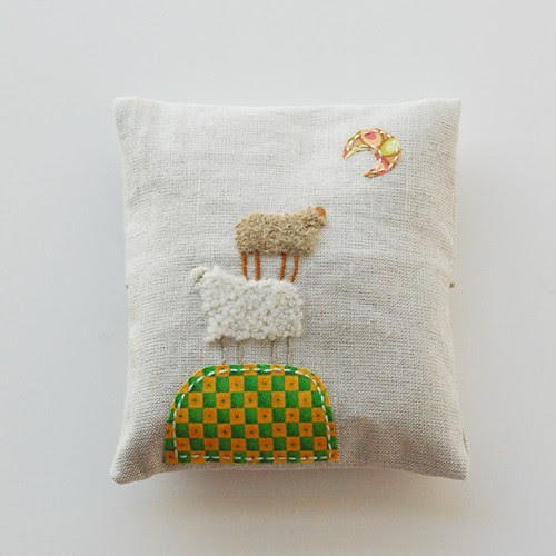levandų pagalvėlė/ lavender sachet