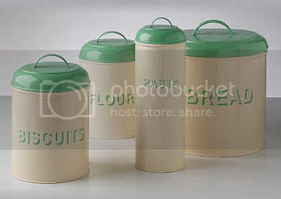 Fl Vine Kitchen Canisters Functional Chronically Perfectly Looking Enamel Nice Retro Canister Sets Images Swan Metal