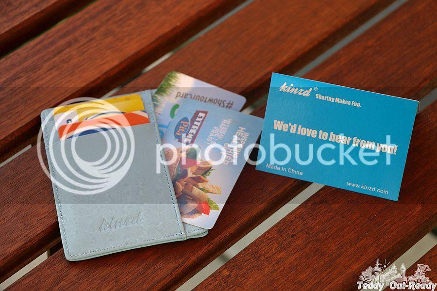 Kinzd Minimalist Wallet front