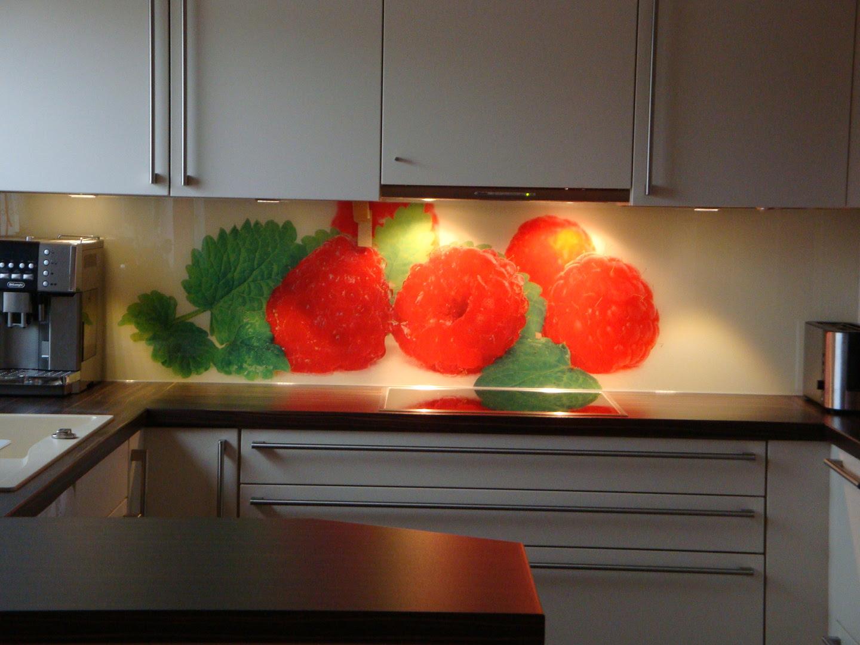 Glaswand Küche Spritzschutz Kosten Preis Beleuchtet ...