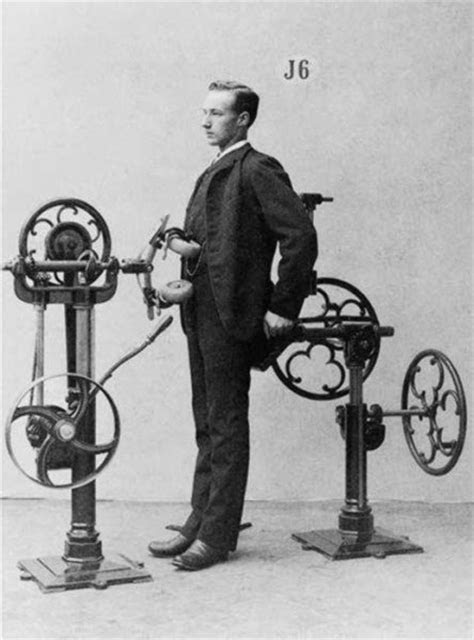 The gym of the past had so freaking weird machines - Time