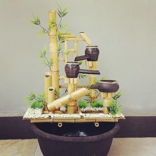 15+ Kerajinan Bambu Air Mancur, Konsep Terkini