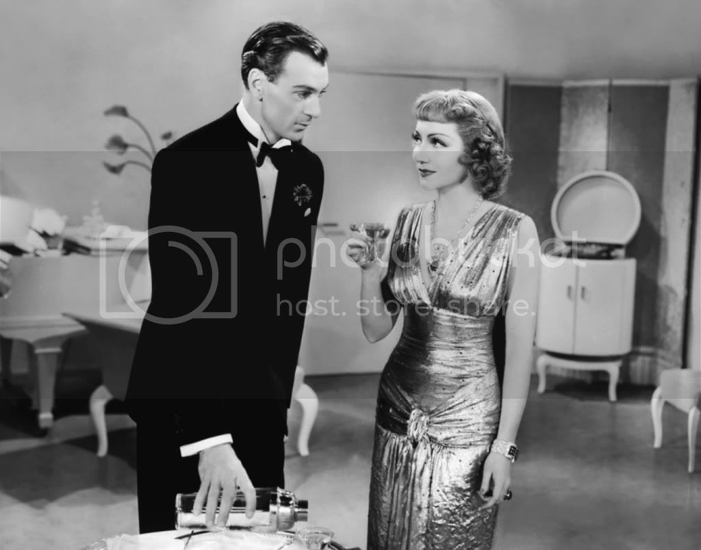Claudette Colbert and Gary Cooper in Bluebeard's Eighth Wife