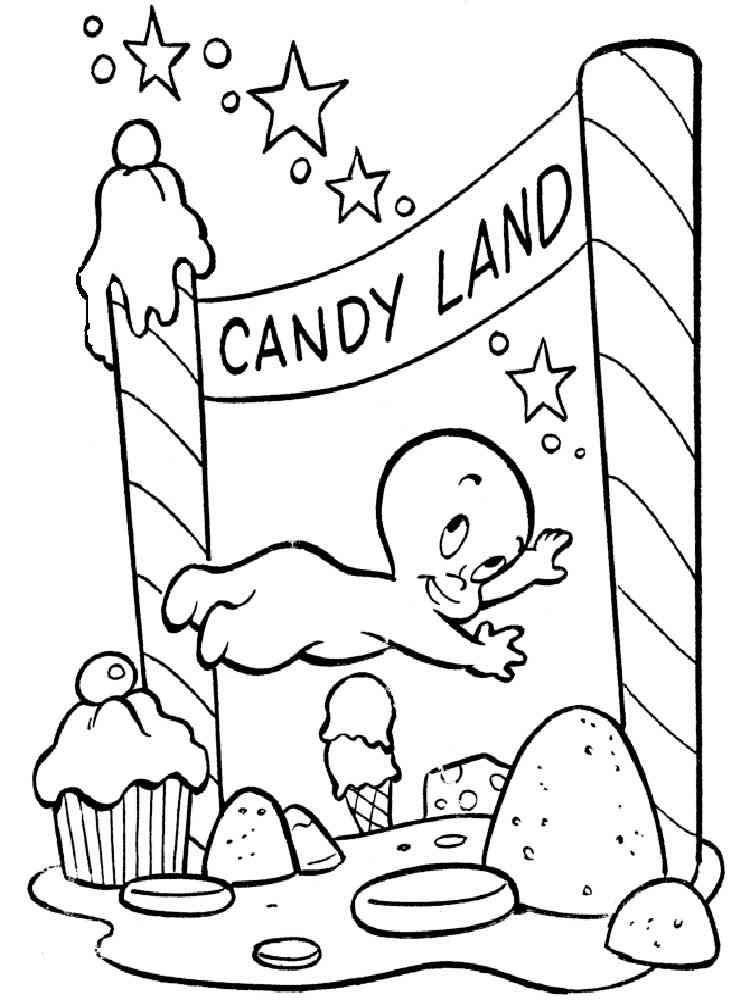 Download Casper coloring pages. Download and print Casper coloring ...